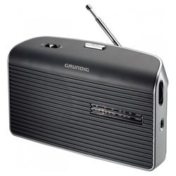 Grundig Music 60 Kofferradio grau Analog Tuner für UKW/MW Netz-/Batteriebetrieb UKW-Radio (Tuner für UKW/MW)