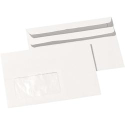 100 C6 Briefumschläge SK m.F. RC grau