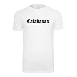 MisterTee T-Shirt Calabasas Tee weiß S