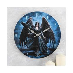 Anne Stokes Wanduhr Wanduhr Gothic Raven