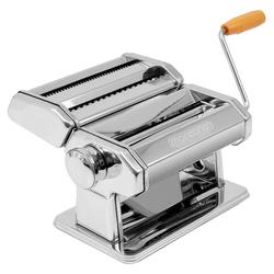 Deuba Nudelmaschine, Edelstahl Pasta Maker Frische manuelle Pasta Walze für Spaghetti Bandnudeln Lasagne Cannelloni
