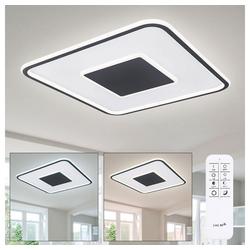 etc-shop Deckenstrahler, Tageslicht Deckenleuchte mit Fernbedienung LED Tageslicht Deckenleuchte Tageslichtlampen Decke, mit Memoryfunktion, 1x LED 46W 2700-6000 Kelvin, L 55 cm