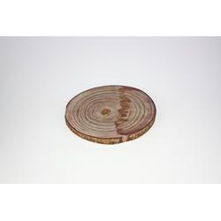 Baumscheibe mit Rinde(D 33 cm)