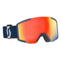 Scott - Shield Retro Blue/Red  - Skibrillen