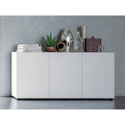 Sideboard Nex Pur Piure weiß, Designer Studio Piure, 77.5x160x48 cm