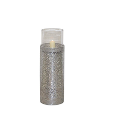moebel-direkt-online Bodenwindlicht Heike I (1 Stück), mit Glaszylinder Ø 22 cm x 68 cm