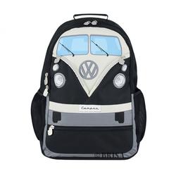 VW Bulli T1 Rucksack schwarz