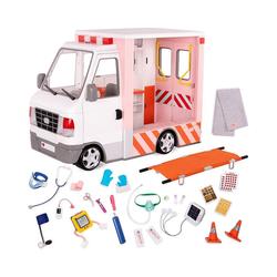 Our Generation Puppen Accessoires-Set Krankenwagen mit Zubehör