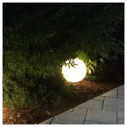 s.LUCE LED Gartenleuchte Globe Ø 40cm