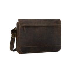 Greenburry Laptoptasche Vintage XXL Tasche, Messenger Bag