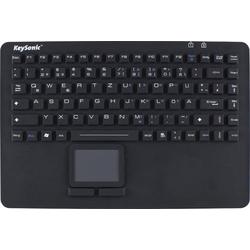 KEYSONIC Keysonic KSK-5230IN - Wasserdichte Silikontastatur mit Touchpad Tastatur