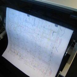 """Canson Plotterpapier """"PaperJet CAD"""", 91.4 cm x 50 m, 90 g/qm², weiß, 62490"""