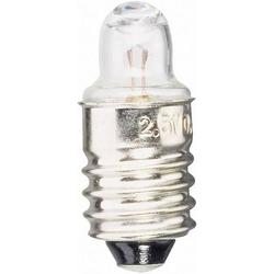 Barthelme 00632218 Taschenlampen Leuchtmittel 2.20V 0.4W Sockel E10 Klar