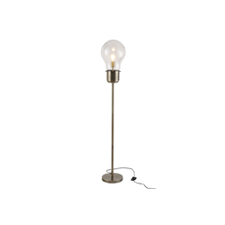 HOMCOM Stehlampe Stehleuchte im industriellen Stil