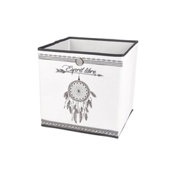 dynamic24 Aufbewahrungsbox, Motiv Textil Faltbox 31cm Aufbewahrung Box Faltkiste Textil-Box