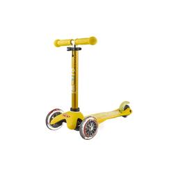 Mini Micro Deluxe yellow Kickboardreifen - PU Reifen, Kickboardfarbe - Gelb, Kickboardart - Kickboard 2-5 Jahre,