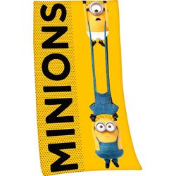 Minions Badetuch Minions 2 (1-St), hochfarbig bedruckt