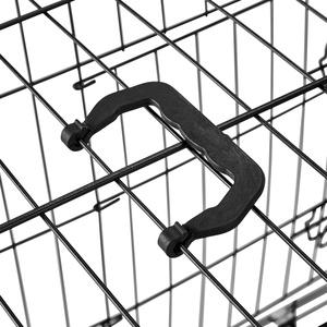 Hundebox Gitter tragbar - 89 x 58 x 65 cm