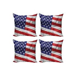 Abakuhaus Kissenbezug Modern Accent Doppelseitiger Digitaldruck, Patriotisch America Patriotic Day 60 cm x 60 cm