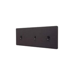 MCW Stellwand MCW-G75, Büro-Sichtschutz, Pinnwand, doppelwandig, Inkl. Anbringungen, Schalldämmend grau 60 cm x 160 cm x 2 cm