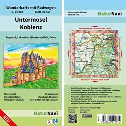 Untermosel - Koblenz 1: 25 000