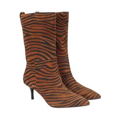 ekonika Stiefelette im stylischem Zebra-Look 38