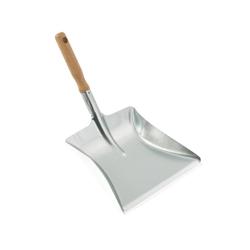 LEIFHEIT Outdoor Metallschaufel, Robuste und verzinkte Kehrschaufel, Breite: 24 cm
