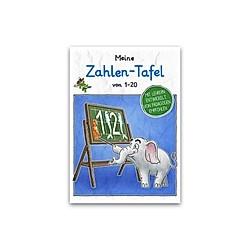 Meine Zahlen-Tafel von 1-20 Schreiblernheft DIN A5. E&Z-Verlag GmbH  - Buch