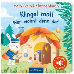 Sound-Klappenbuch: Klingel mal!Wer woh