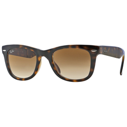 RAY BAN Sonnenbrille FOLDING WAYFARER RB4105 braun XL