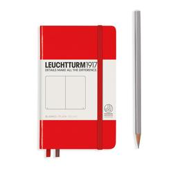Leuchtturm1917 Notizbuch A6 blanko Rot