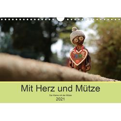 Mit Herz und Mütze (Wandkalender 2021 DIN A4 quer)
