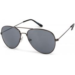 styleBREAKER Sonnenbrille Kinder Pilotenbrille Getönt grau