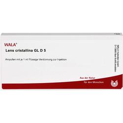 LENS CRISTALLINA GL D 5 Ampullen 10 ml