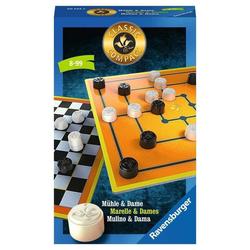 Ravensburger Spiel, Ravensburger Classic Compact: Mühle & Dame