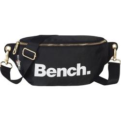 Bench. Gürteltasche OTI303S Bench stylische Hip Bag Nylon Gürteltasche (Gürteltasche), Damen, Jugend Gürteltasche Nylon, schwarz ca. 25cm breit, großes Logo
