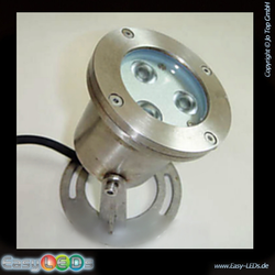 LED Aquarium Strahler 3x1 Watt RGB Automatik IP68