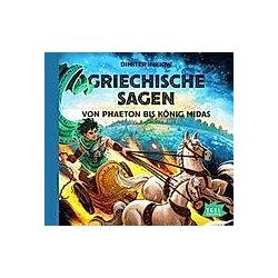 Griechische Sagen, Audio-CD