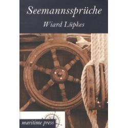 Seemannssprüche als Buch von Wiard Lüpkes