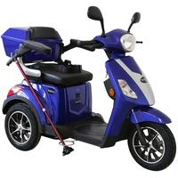 Rolektro E-Trike 25 V.2 1000 Watt 25 km/h blau