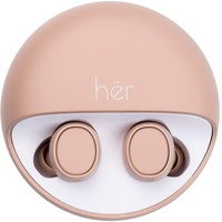 HER HX-12 Bluetooth® In Ear Stereo-Headset In Ear Beige