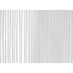 Wentex Pipes & Drapes Vorhang Fadenvorhang, 3x3m, 220g/m², weiß