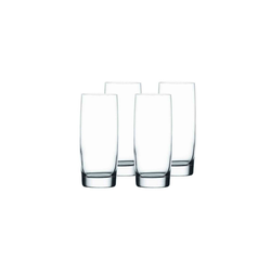Nachtmann Gläser-Set Vivendi Longdrinkglas 4er Set (4-tlg), Kristallglas