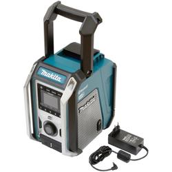 Makita DMR115 Baustellenradio (FM-Tuner, Digitalradio (DAB), 12V, Bluetooth-Radio mit IP65-Gehäuseschutzklassifizierung)