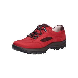 Schnürschuhe Waldläufer rot