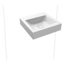 Kaldewei Cono Waschtisch, ohne Überlauf mit Perl-Effekt 50 x 50 x 12 cm