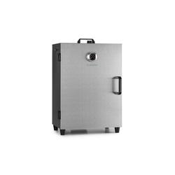 Klarstein Smoker Flintstone Steel Räucherofen 1600 W integriertes Thermometer Edelstahl