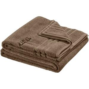for friends Saunatuch  Sauna Soft Cotton ¦ braun ¦ reine Baumwolle ¦ Maße (cm): B: 70