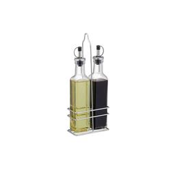 relaxdays Ölspender Essig und Öl Spender aus Glas