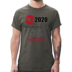 Shirtracer T-Shirt Bauchladen war gestern! 2021 - JGA Junggesellenabschied Männer - Herren Premium T-Shirt - T-Shirts bauchladen M